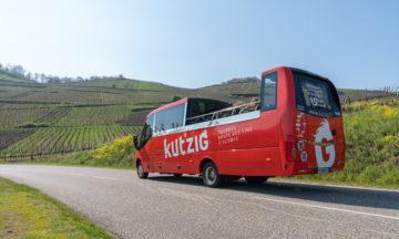 Kutzig : le bus cabriolet qui décoiffe !