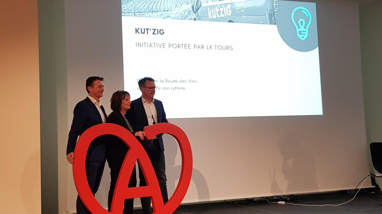 Kut'zig, lauréat du Challenge de l'initiative touristique 2019