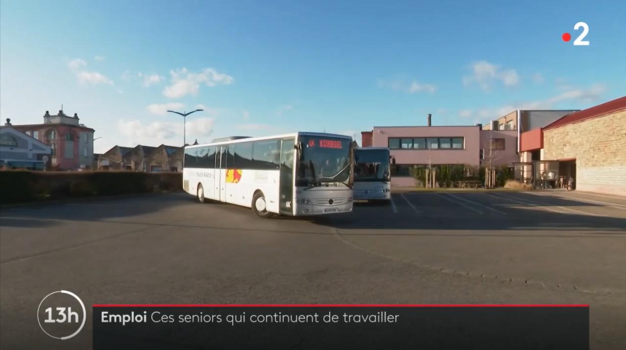 KUNEGEL sur France 2 : Ces seniors qui continuent de travailler